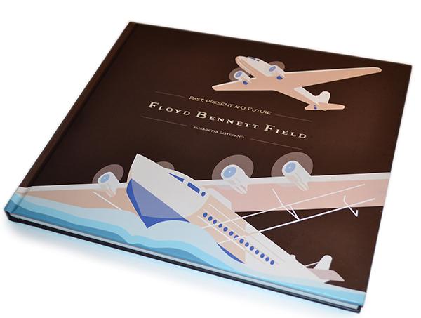 Floyd Bennett Field Book Design
